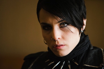 Noomi Rapace en The Girl With the Dragon Tattoo