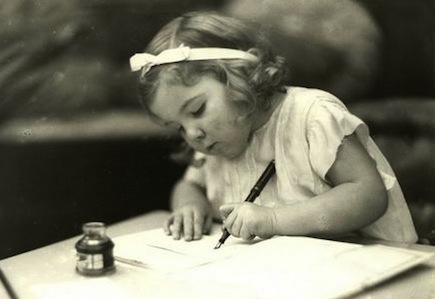 Escribiendo a la antigua