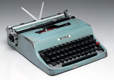 La legendaria Olivetti Lettera 32 de Cormac McCarthy