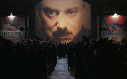 1984 de Michael Radford basada en la novela de Orwell